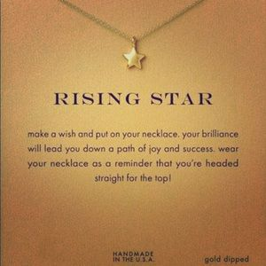 Rising star Dogeared necklace